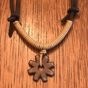 Metal Rowel necklace